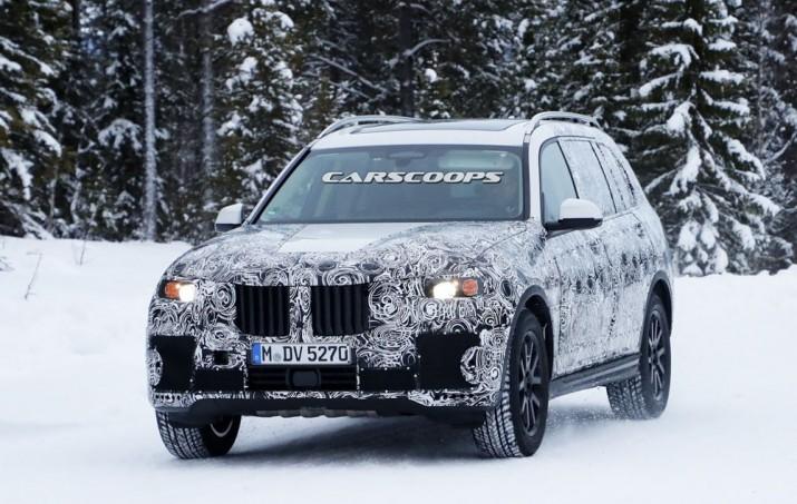 BMW X7 2018 Фото 01