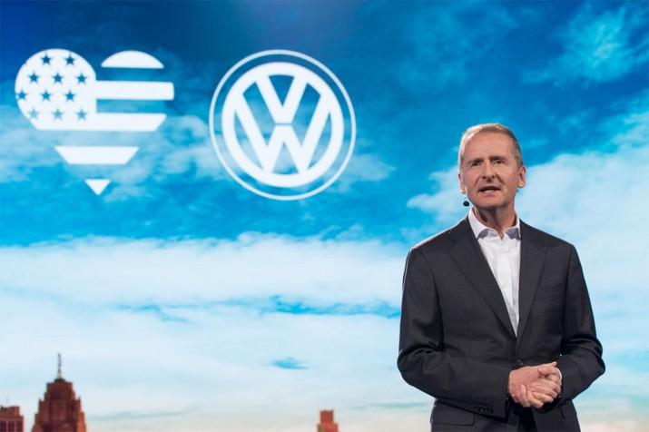 Босс Volkswagen арестован в США