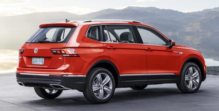 Volkswagen Tiguan дебютировал в США