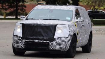 Ford Explorer 2019 замечен на первых тестах