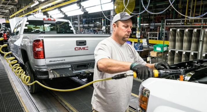 GM завод в США