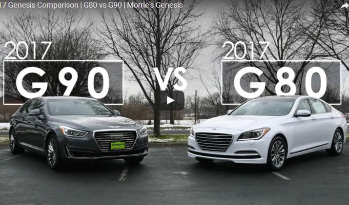 Genesis G80 против Genesis G90