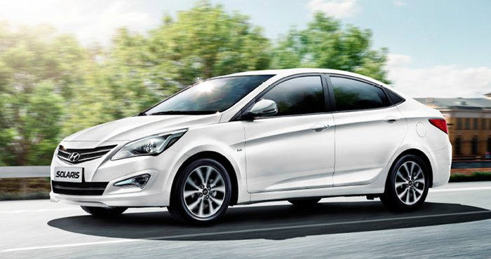 Hyundai Solaris стал бестселлером на российском рынке в 2016 году