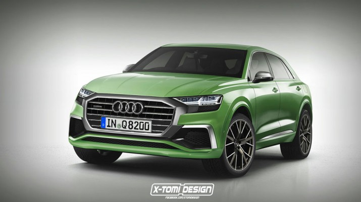 Концепт Audi Q8 2018