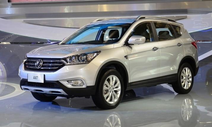 Кроссовер Dongfeng DFM AX7 на высоком старте для российского рынка