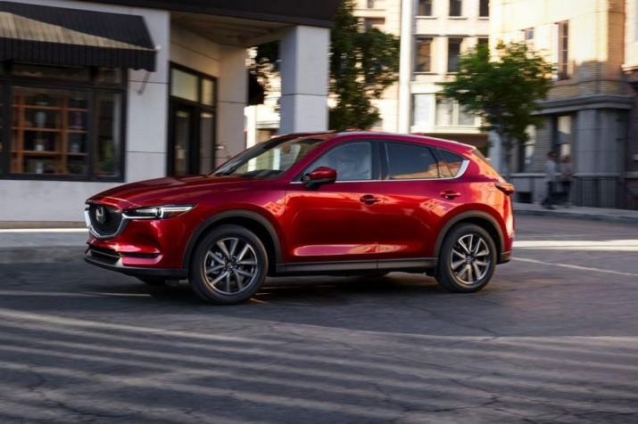 Mazda CX-5 получит третий ряд сидений