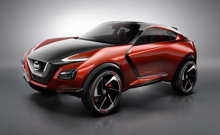 Nissan Gripz hybrid concept 2016 Фото 01