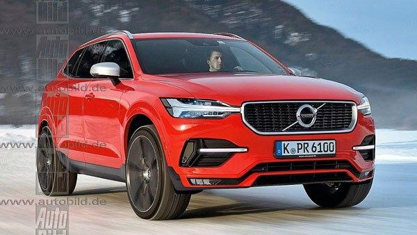 Новый кроссовер Volvo XC60 показал себя во всей красе
