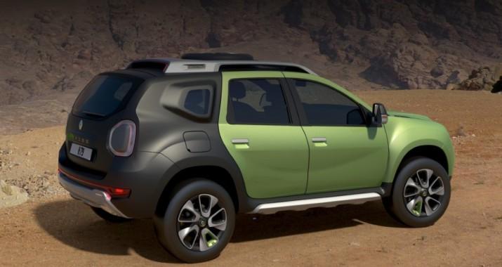 Renault задумывается о производстве кроссовера Duster с дополнительным рядом сидений