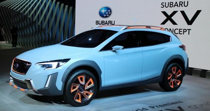 Subaru анонсировала презентацию нового поколения кроссовера XV