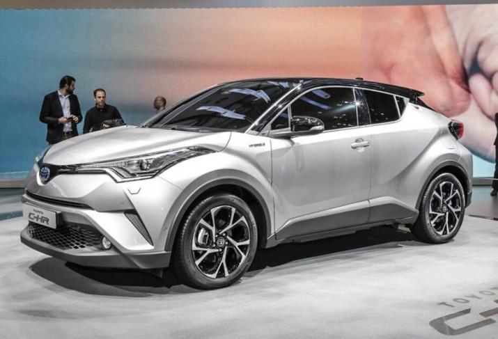 Toyota C-HR готова к выходу на российский рынок