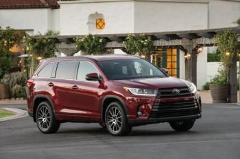Toyota Highlander 2017 доступна для покупки в России
