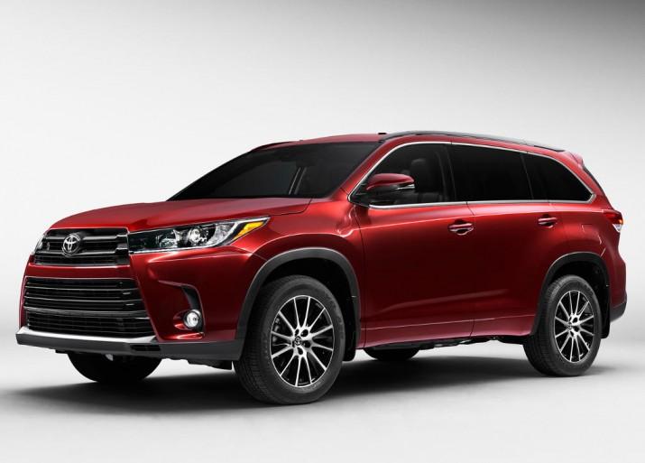 Toyota официально представила внедорожник Highlander для России