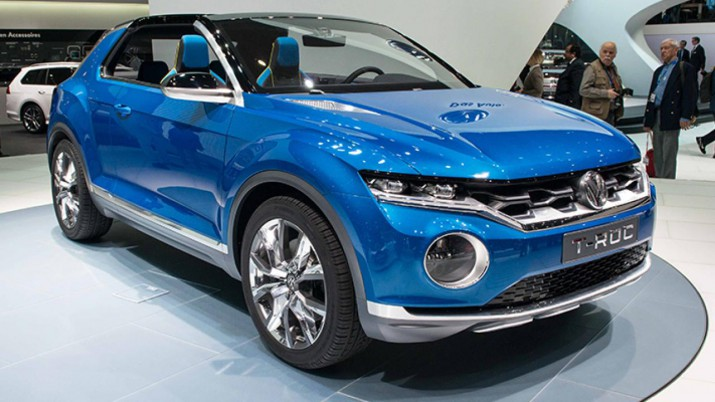 Volkswagen T-ROC сказка станет явью уже в 2017 году