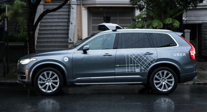 автономный Volvo XC90s 2016
