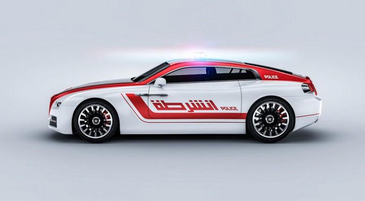 купе Rolls-Royce Wraith 2020 Полициа ОАЕ Фото 02
