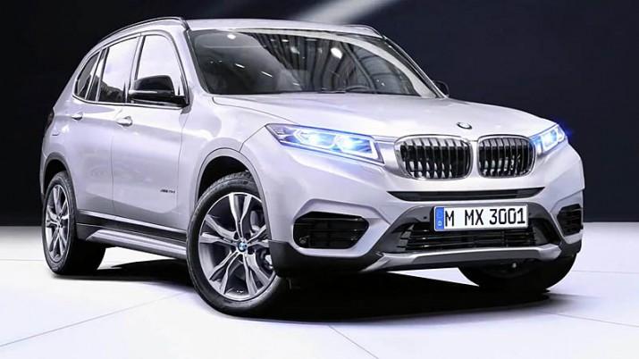 BMW X3 новой генерации встанет на серийный конвейер в августе