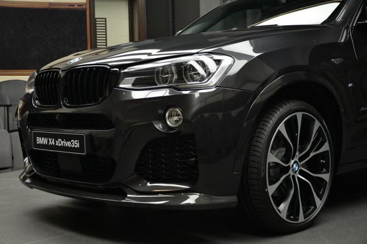 BMW X4 M Performance 2017 Фото 01