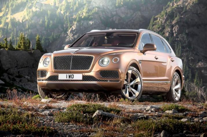 Bentley Bentayga с дополнительным рядом сидений прошел российскую сертификацию