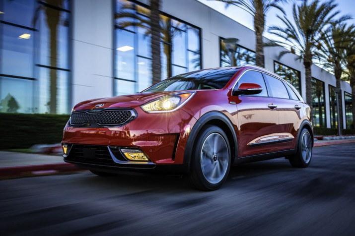 Kia Niro electric 2017 Фото 05