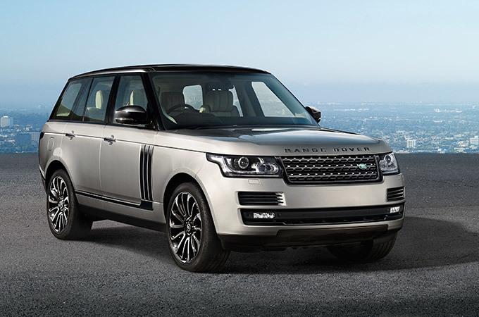 Land Rover привезет в Россию 70 автомобилей Range Rover Sport специальной версии