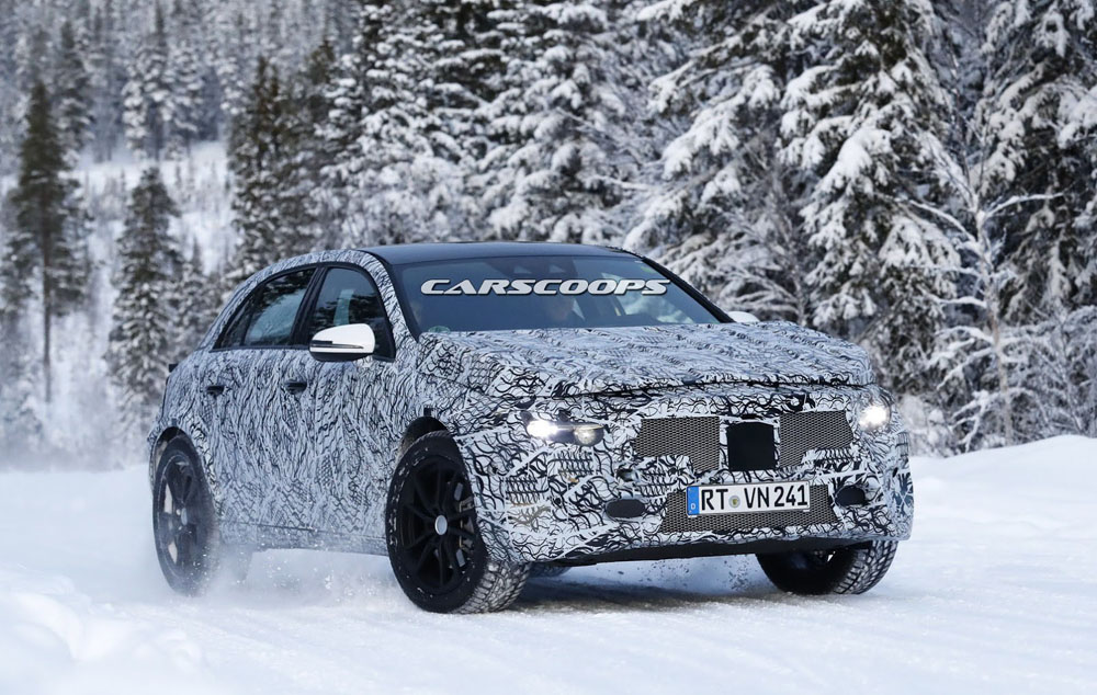 Benz выпустит 5 новых джипов к 2020г.