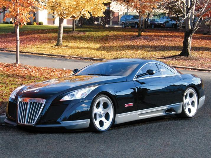 Mybach Exelero признан самым дорогостоящим автомобилем в мире