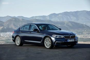 Новая генерация BMW 5 серии поступит в российские продажи в марте 2017 года