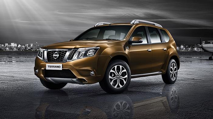Обновленный Nissan Terrano показался перед публикой на фото