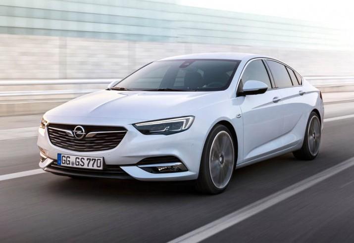 Обновленный Opel Insignia поступит в продажу Германии