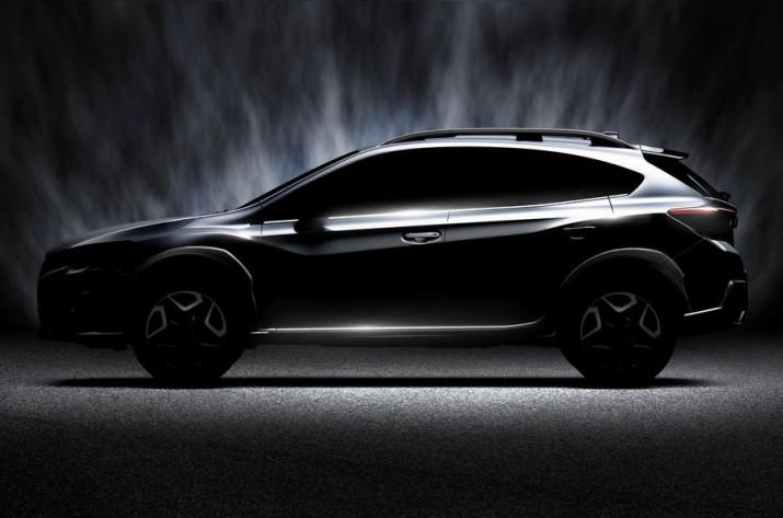 Обновленный Subaru XV представят весной этого года в Женеве