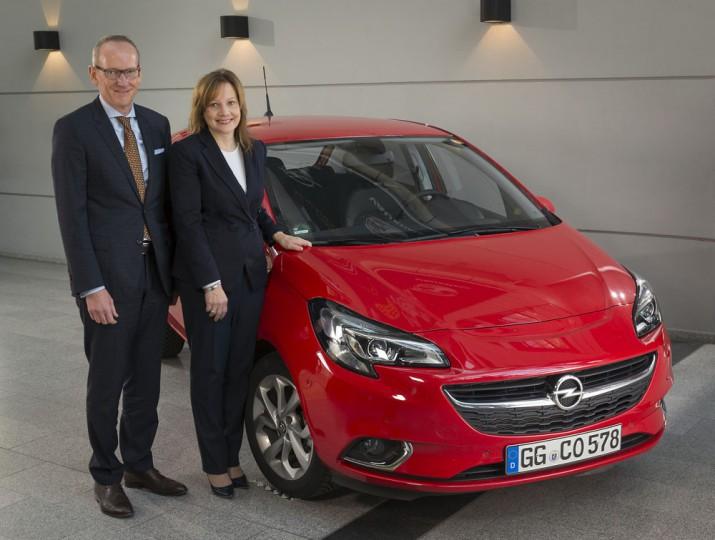 Opel PSA Мэри Барра