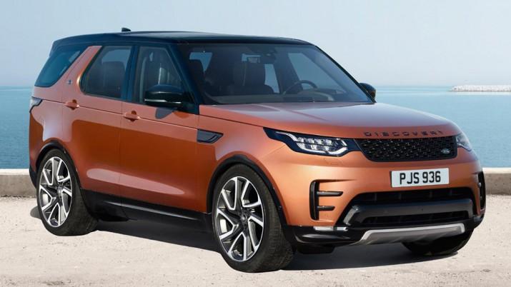 Производитель рассекретил британскую стоимость нового Land Rover Discovery