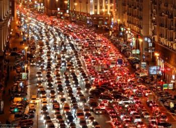 Россия заняла четвертое место по пробкам на дорогах в мире