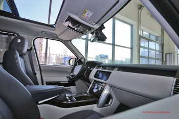 Тест-драйв Range Rover Vogue Фото 02