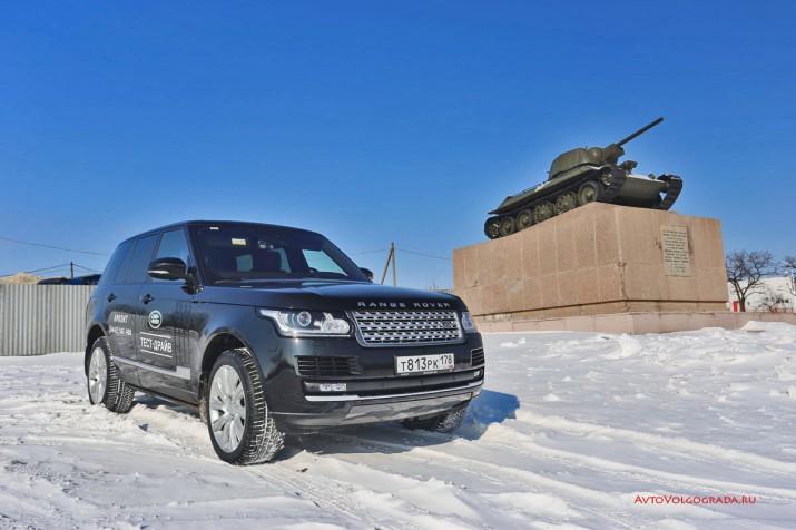 По проходимости Range Rover едва ли уступает танку.