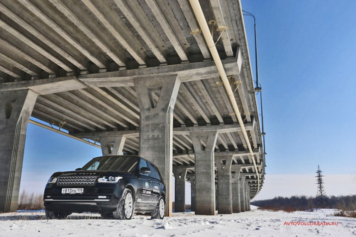 Тест-драйв Range Rover Vogue Фото 37