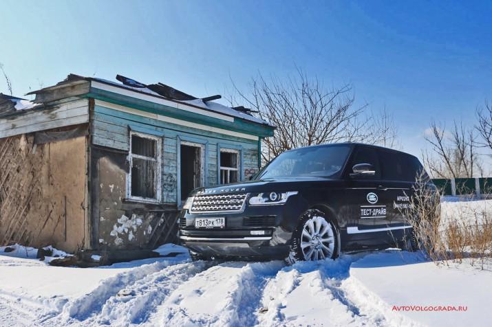 Range Rover - на нем не страшно!