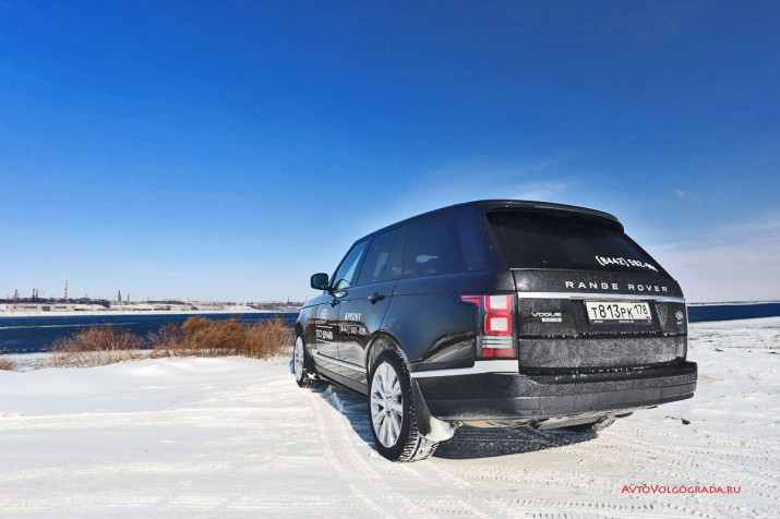 Тест-драйв Range Rover Vogue Фото 56