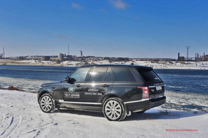 Тест-драйв Range Rover Vogue Фото 60