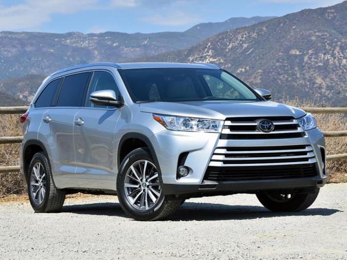 В России дан старт продажам нового Toyota Highlander