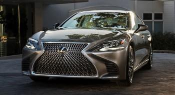 В марте будет представлена гибридная модификация седана Lexus LX