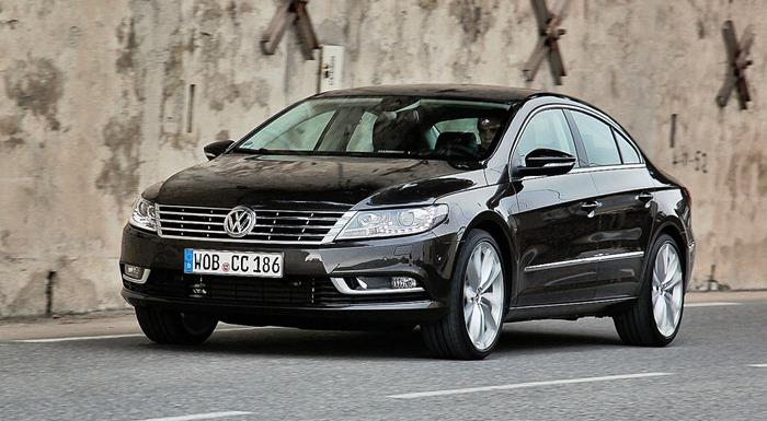 Volkswagen Passat CC не прижился на российском рынке
