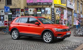 Volkswagen Tiguan стартовали российские продажи нового поколения автомобиля