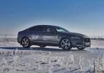 О пользе кошачьего мурчания. Тест-драйв Jaguar XF в зимней сказке.