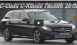 Mercedes-Benz шлифует универсал C-Class 2018