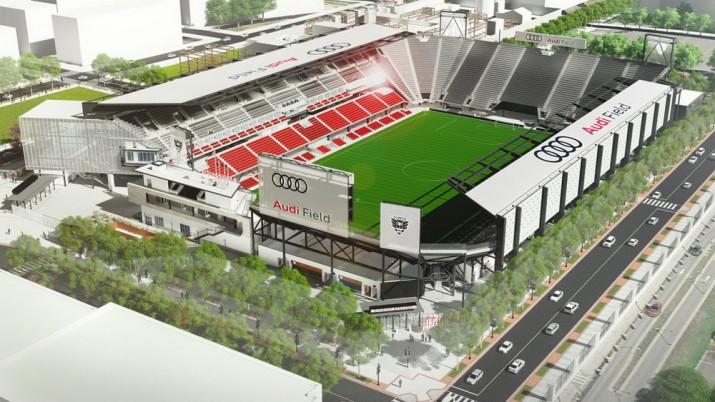 Audi Field стадион Фото 01