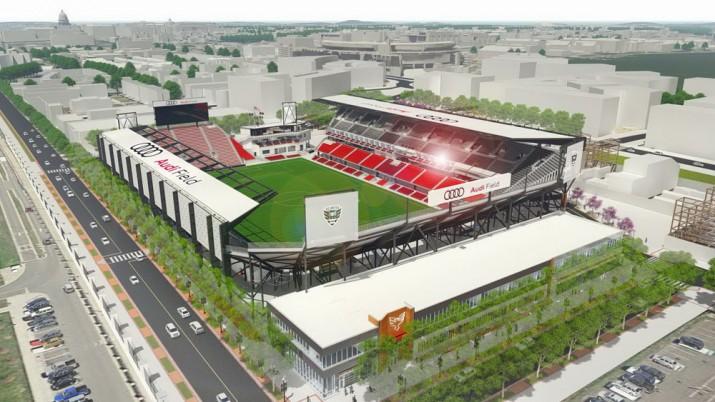 Audi Field стадион Фото 02