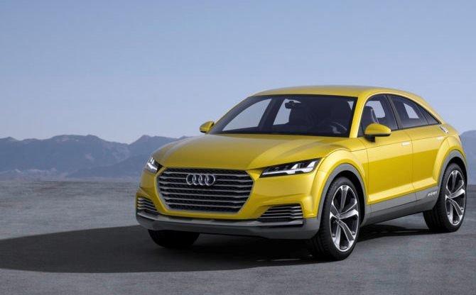 Audi Q4 каким он будет в 2019 году