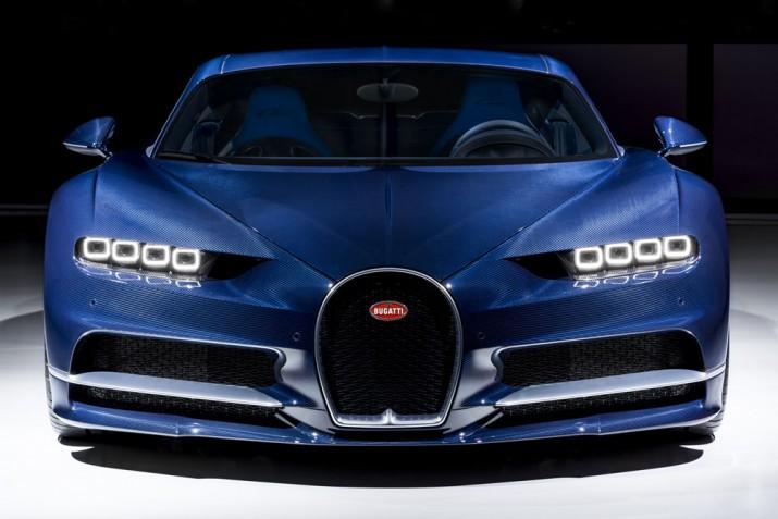 Bugatti Chiron 2017 Фото 1